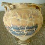 Vaso ellenico in terracotta finemente decorato