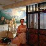 Den gamle elevator - og Annette