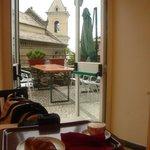Breakfast - outside view