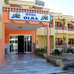Front of Otel Olba