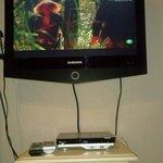 La tv grande y nueva