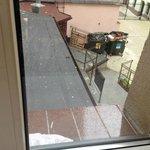 Widok z okna pokoju