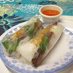#3 Nem Nuong (cured pork spring roll) soooooo good