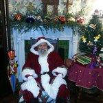 Victorian Santa at Daffodale House B&B