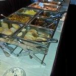 Delicious buffet