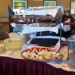 Dessert station was great