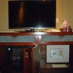 TV, Safe, Refridgerator