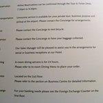 Hotel Book Information