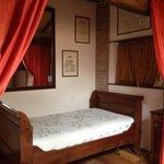 One of sleeping areas in suite