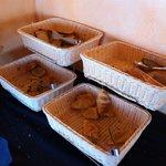 Le coin pain et viennoiseries
