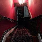 Beautiful staircase, interesting footprint