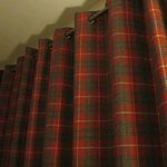 Tartan curtains--fit the room and the location