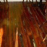 The wood floors are original from the 1880s