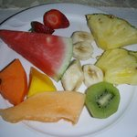 Part of a delicous and fresh breakfast