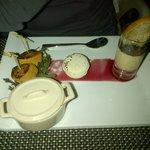 Entrée foi gras et macaron