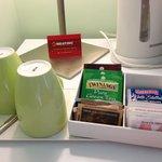 Café y té en la habitación