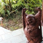 Cool Buddha Statue outside our room