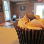 fresh, homemade from all local ingredients, cupcake