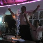 Jose at the martini bar.