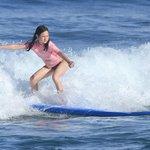 12 yr old surfing
