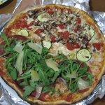 Deux pizzas en une