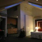 Roomy suite