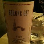 loved this wine recommendation by our server