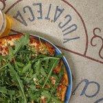 Pizza de Arugula