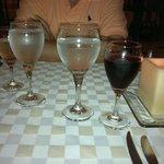 cena en el Mediterráneo