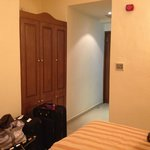 Closet and hall