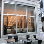 a cozy cafe