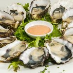 Natural Pacific Oysters