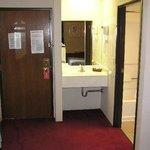 Sink & door