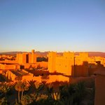 Les kasbahs de N'kob au levé du soleil