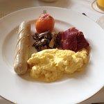 English breakfast (don't order it)
