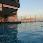 great sunny pool