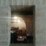 vista dall'ingresso della sala colazione