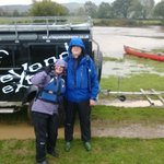 Canoe experience in the rain