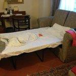 secondo letto della family suite
