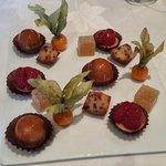 Mignardises ( petit four) were real nice & tasty