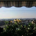 Вид с террасы во время завтрака