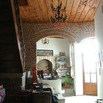 Wonderfully restored foyer