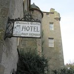 Dornock Castle in the day