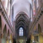 Внутренние интерьеры костела
