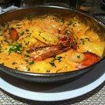 Ravioli frais St Jacques, Gambas, homard