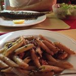 Fish and Pasta Dishes