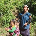 tea picker and her children