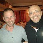 Max Pezzali con Marco al Per...Bacco