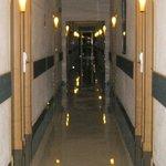 Corridor - gleaming!