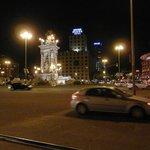 View from Placa Espanya